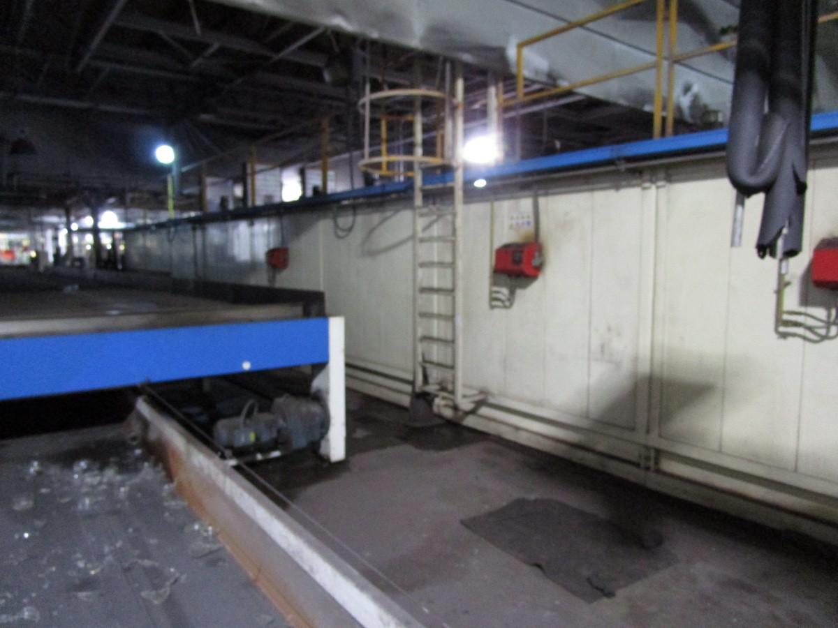 2005 Antonini Meccanica Vetraria Tupe L11W488/40/37 Glass Cool Down Conve | Rig Fee: Contact Rigger - Image 4 of 9