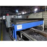 Alliance Industrial Approx. 6' x 70' Cooling Conveyor, PLC Control | Rig Fee: $7500