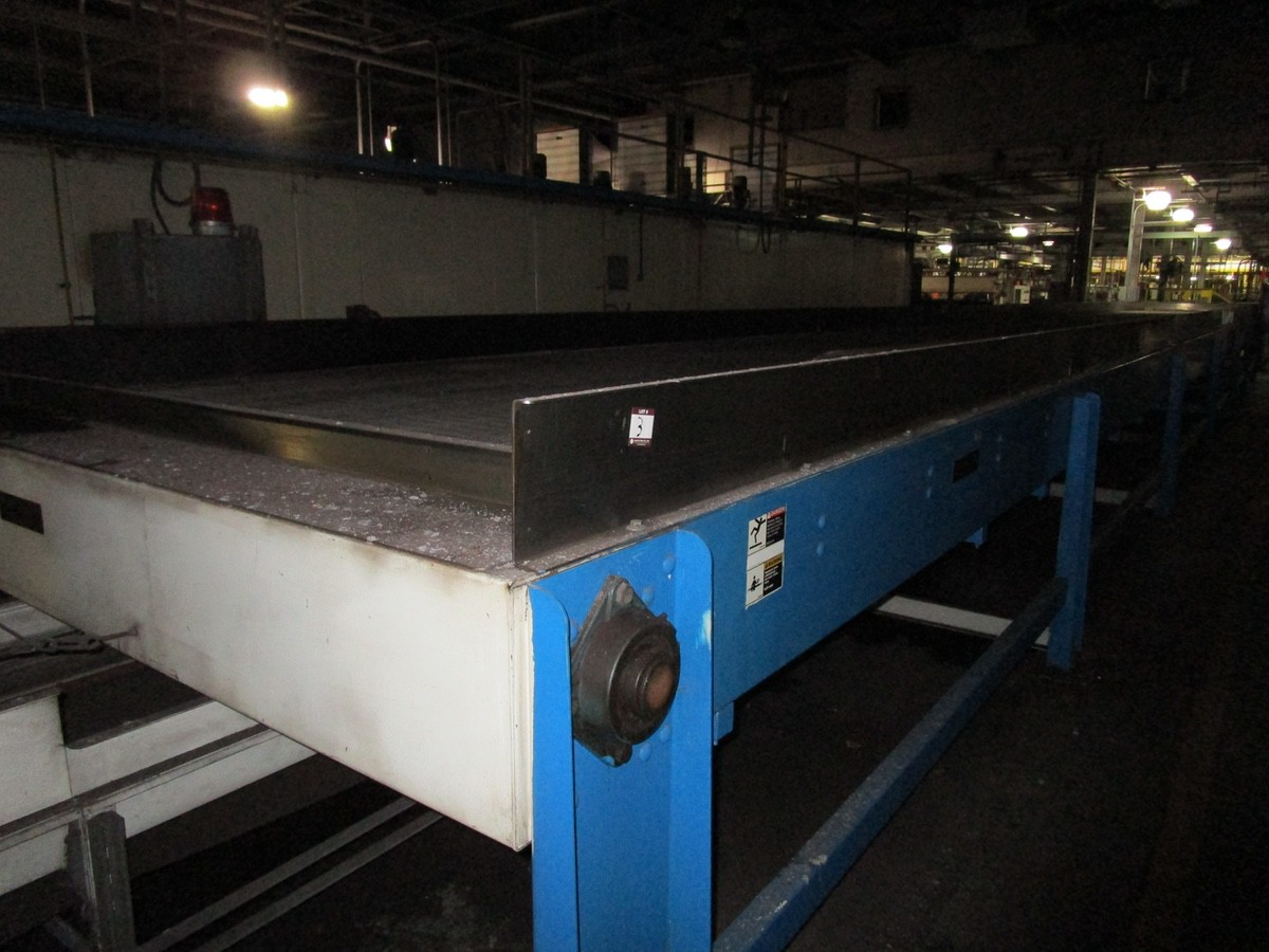 Alliance Industrial Approx. 6' x 70' Cooling Conveyor, PLC Control | Rig Fee: $7500 - Image 2 of 7
