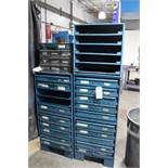 Lot of Assorted Parts Bins w/Contents | Rig Fee: Hand Carry or Contact Rigger