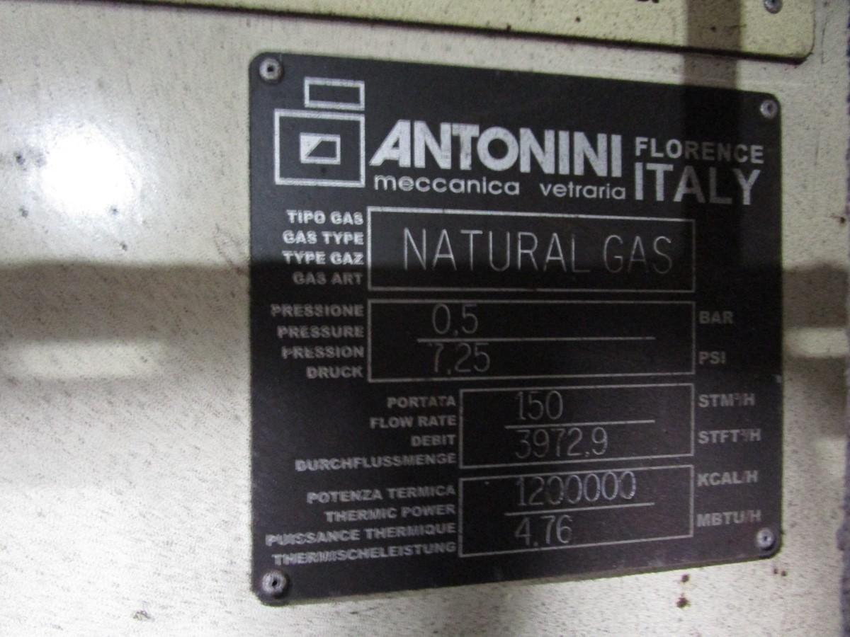 2005 Antonini Meccanica Vetraria Tupe L11W488/40/37 Glass Cool Down Conve | Rig Fee: Contact Rigger - Image 7 of 10