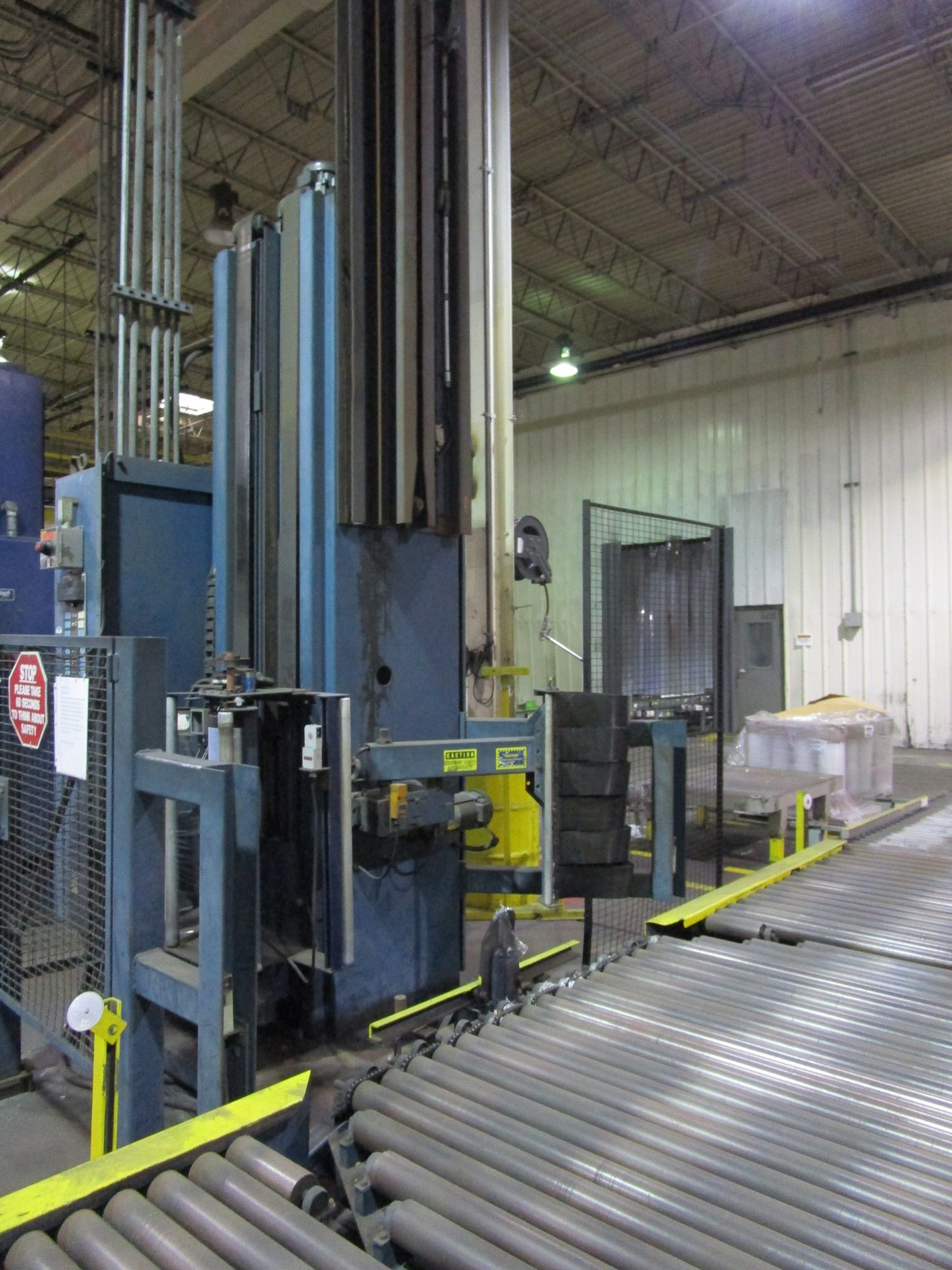 Lantech Automatic Pallet Stretch Wrapper s/n NA | Rig Fee: $2500 - Image 6 of 7