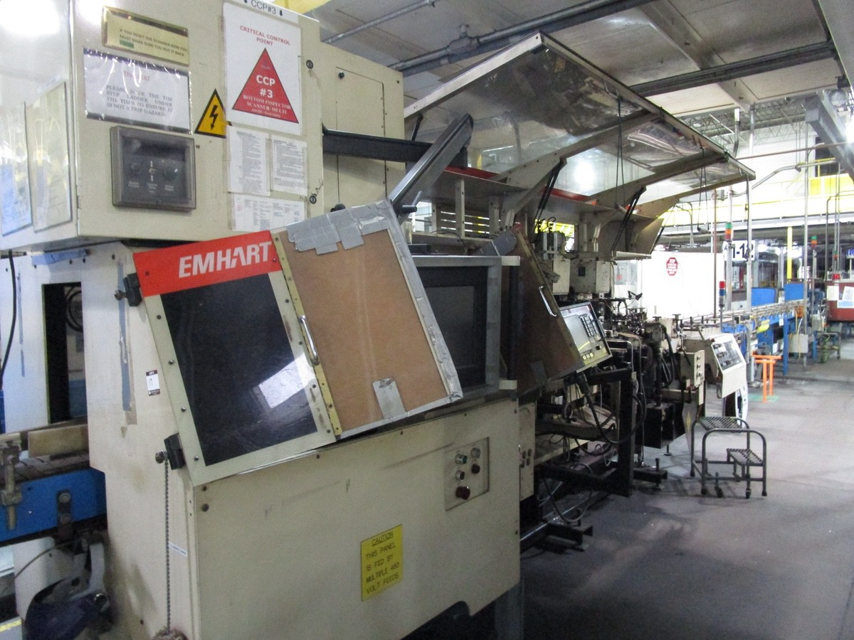 1989 Emhart Powers Scanner 5000 Bottom Inspector, 2007 Upgraded Control | Rig Fee: $2500
