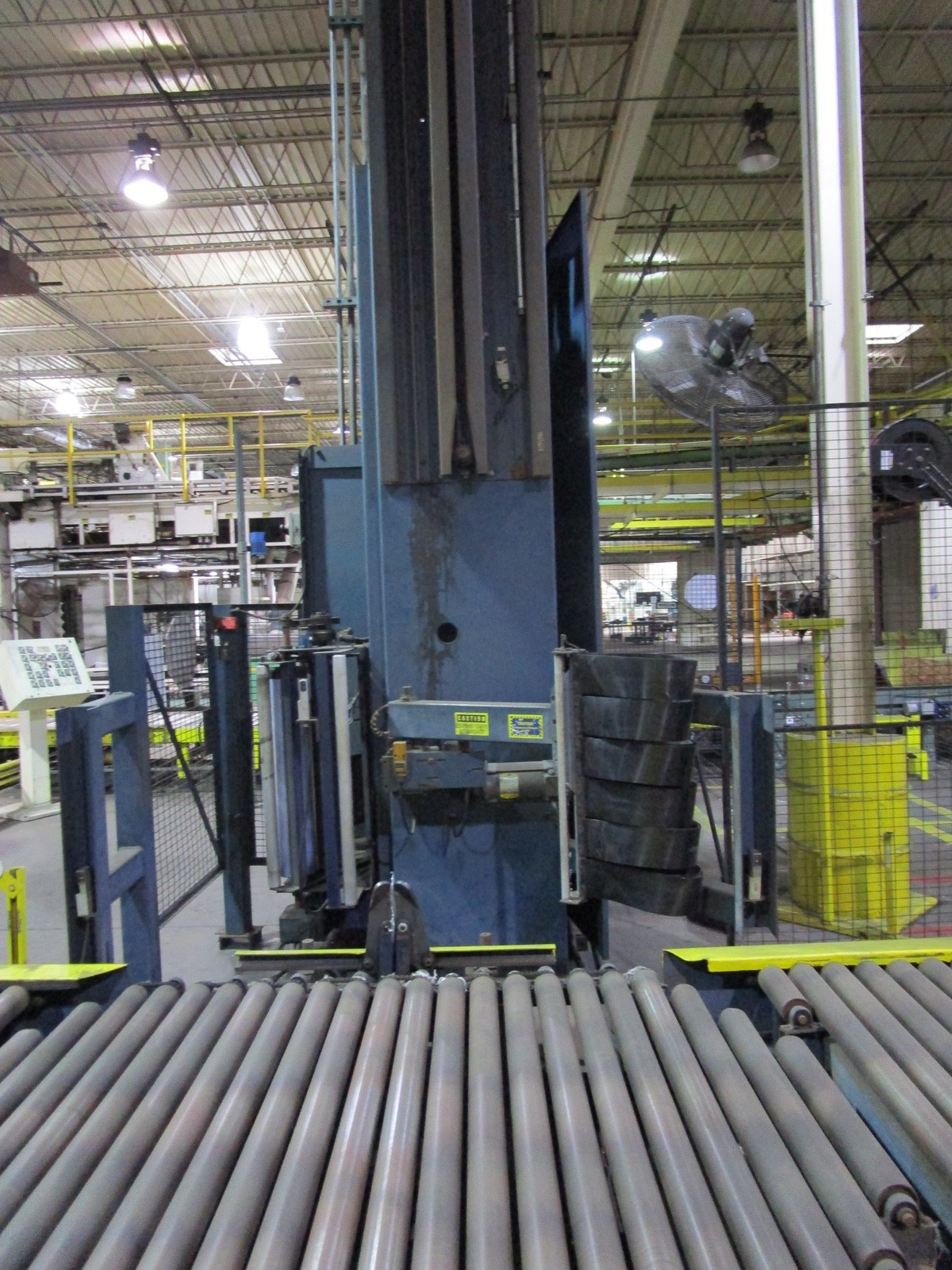 Lantech Automatic Pallet Stretch Wrapper s/n NA | Rig Fee: $2500 - Image 4 of 7