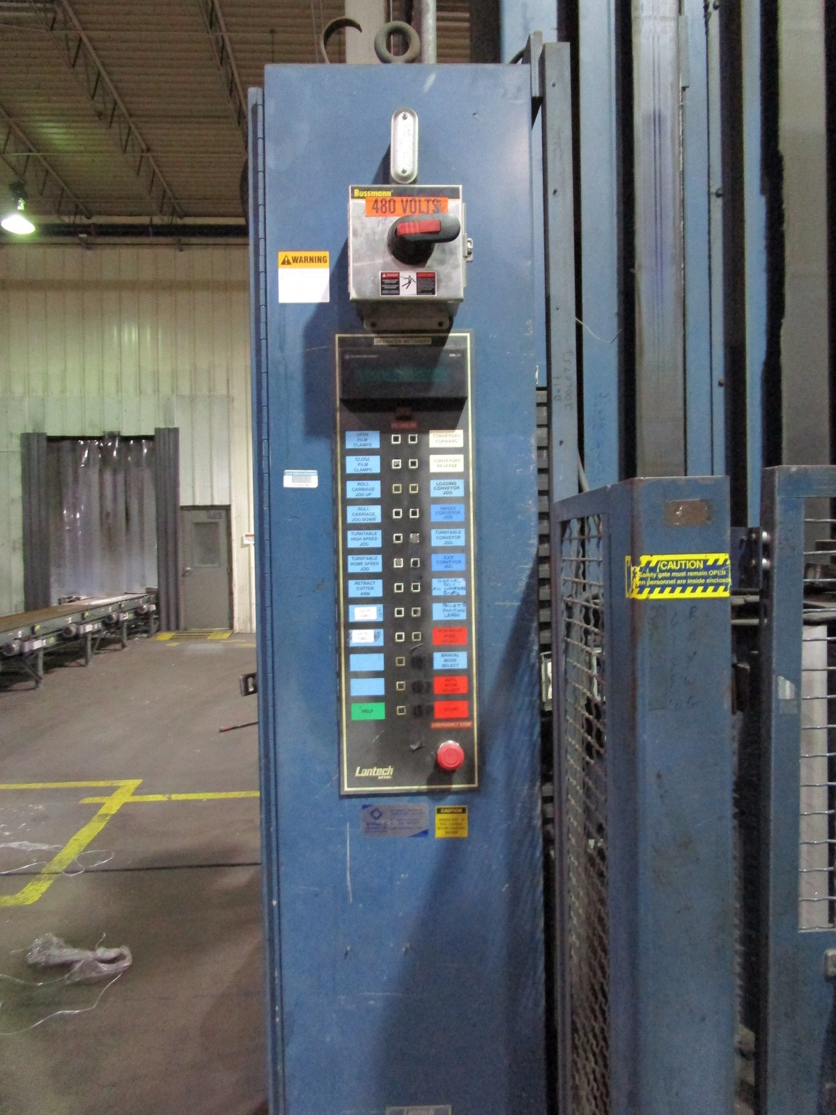 Lantech Automatic Pallet Stretch Wrapper s/n NA | Rig Fee: $2500 - Image 2 of 7