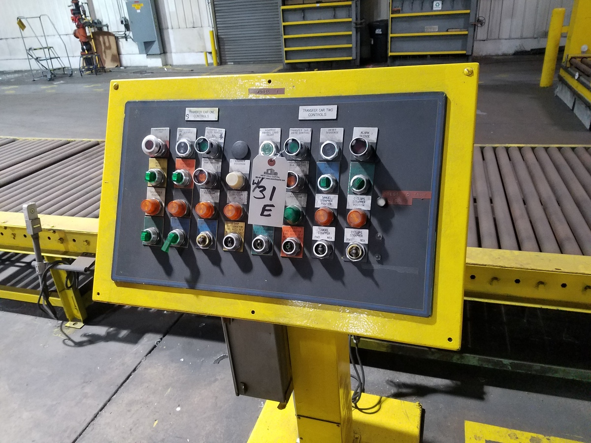 Dual Car Conveyor Transfer System   Rig Fee: Contact Rigger - Image 3 of 3