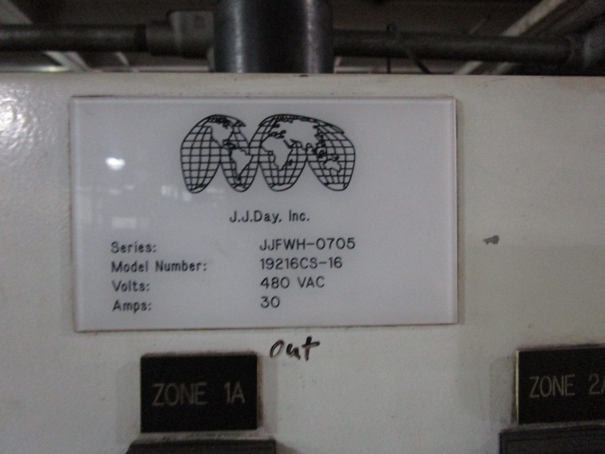 2005 Antonini Meccanica Vetraria Tupe L11W488/40/37 Glass Cool Down Conve | Rig Fee: Contact Rigger - Image 9 of 9