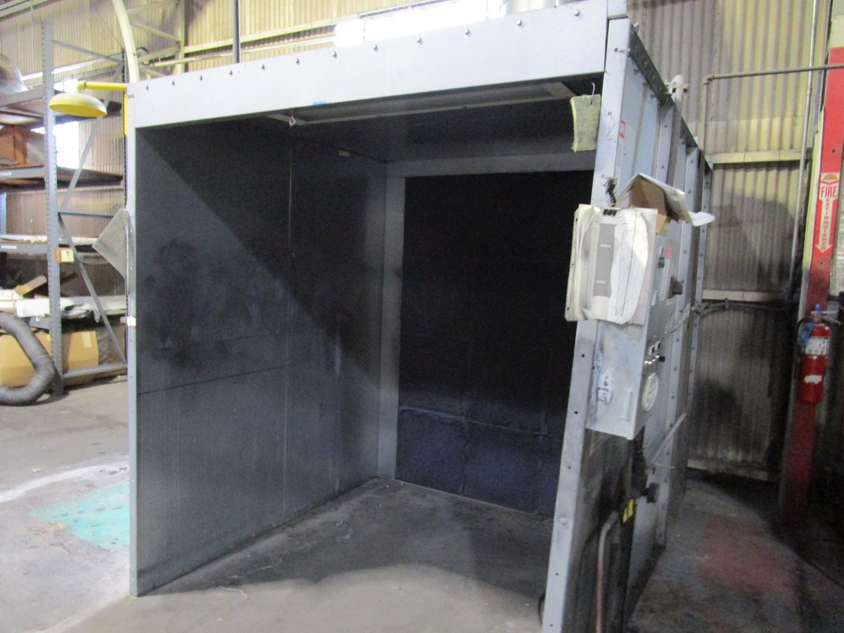 Global Finishing Approx. 6' x 6' x 6' Spray Booth | Rig Fee: Contact Rigger