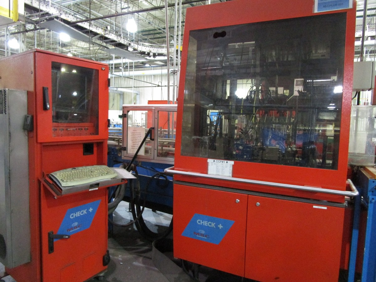 2005 Tiama MSC Check + Droite Multi Inspection Machine s/n 169083 | Rig Fee: $1500 Skidded & Loaded - Image 2 of 3