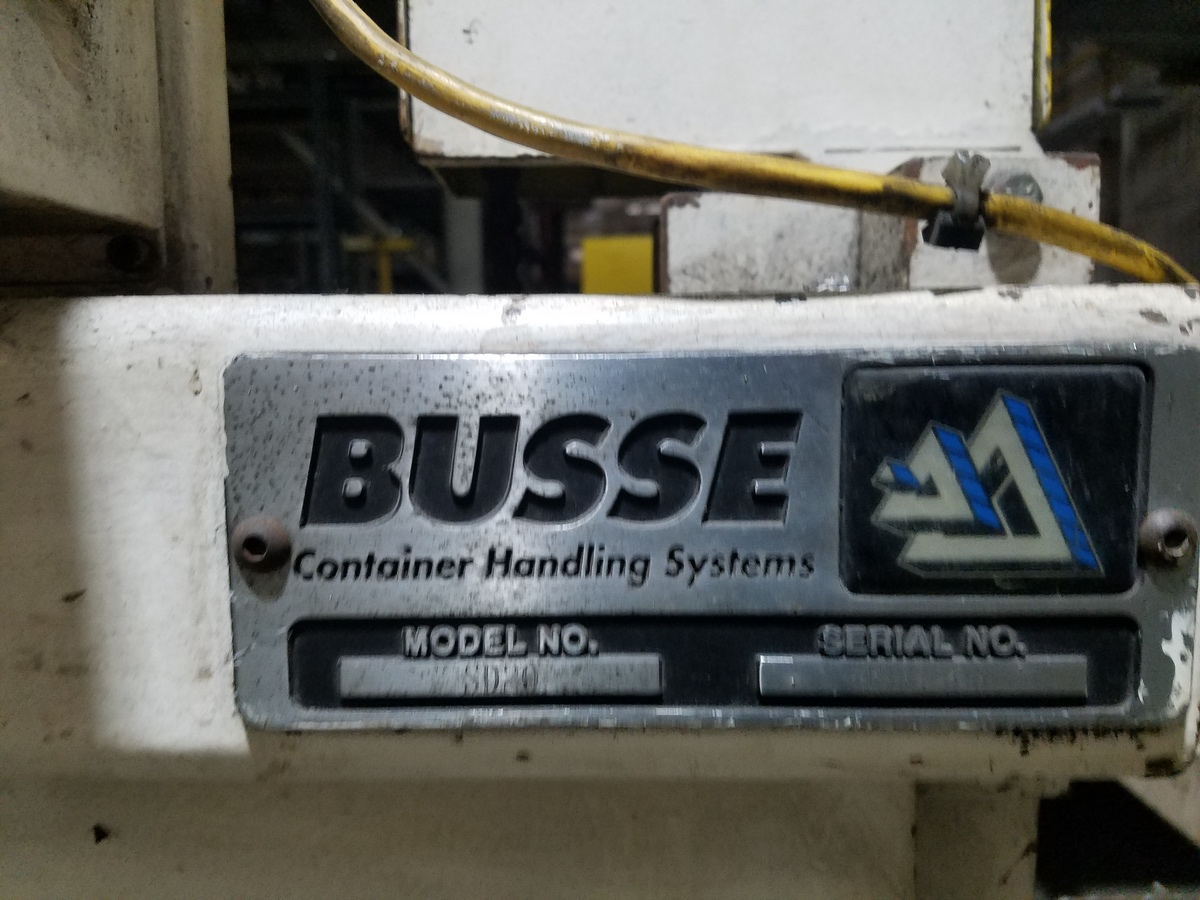 Busse Bros. Palletizer, M# SD20 | Rig Fee: Contact Rigger - Image 2 of 2