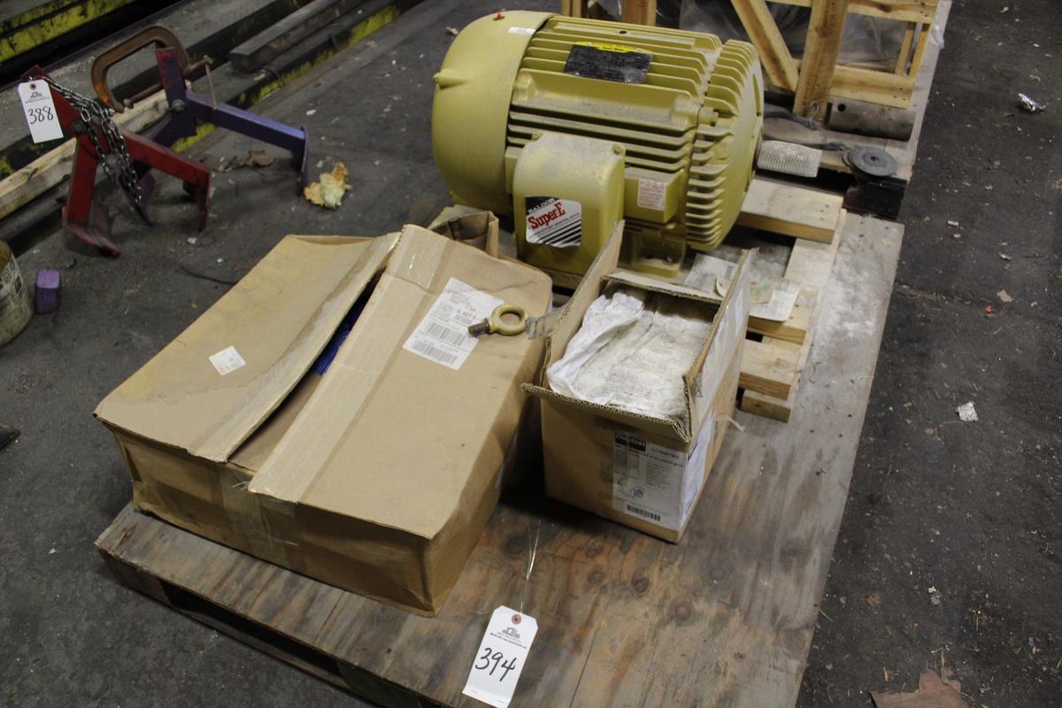 Electric Motor, 50 HP | Rig Fee: $25