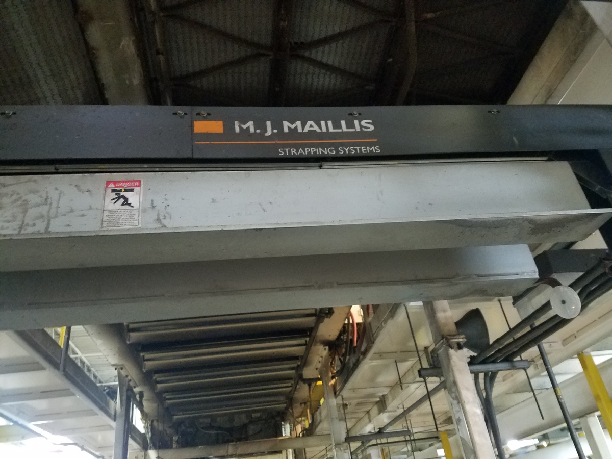 M.J. Maillis Automatic Strapping Machine | Rig Fee: Contact Rigger - Image 3 of 3