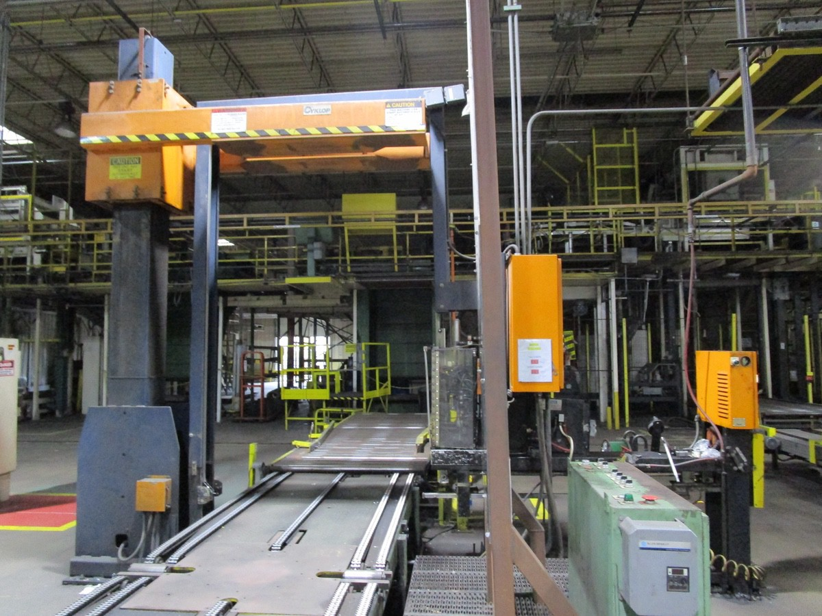 Cyclop ABS-2-60PE Automatic Strapping Machine s/n P1-953-60 | Rig Fee: $3500 - Image 3 of 4
