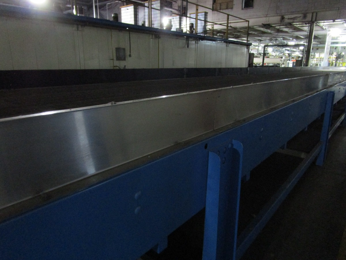 Alliance Industrial Approx. 6' x 70' Cooling Conveyor, PLC Control | Rig Fee: $7500 - Image 5 of 7
