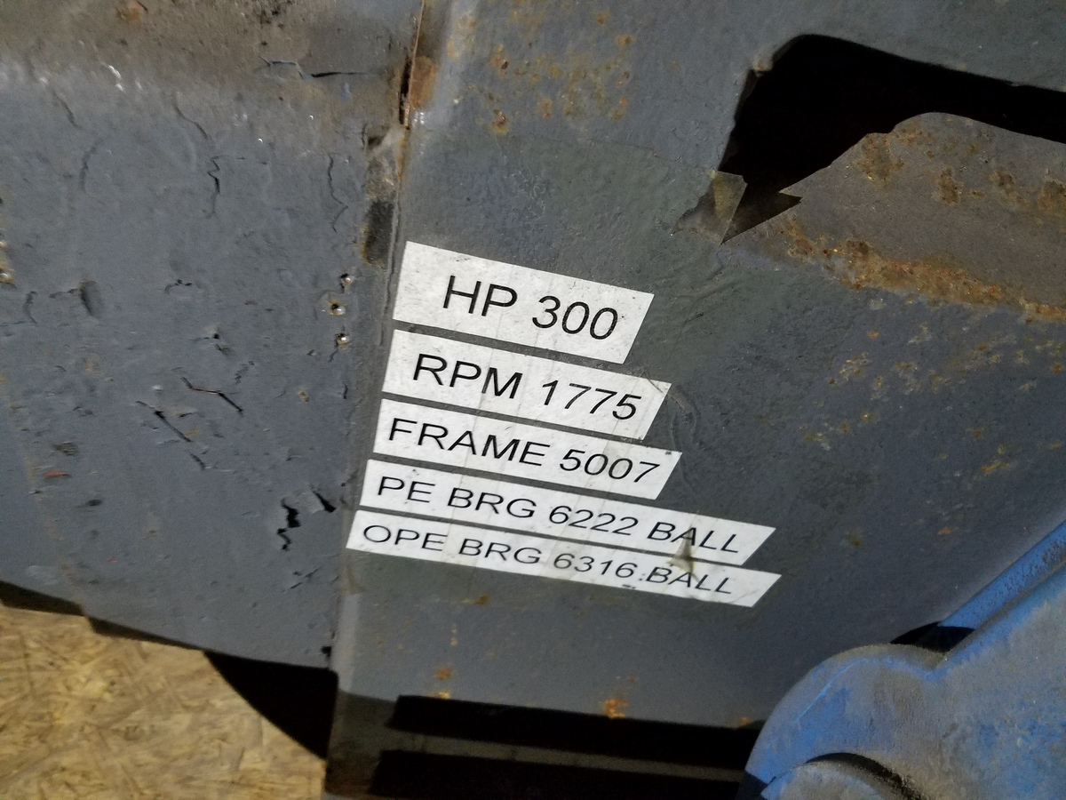 US Electric Motor, 300 HP | Rig Fee: $50 - Image 2 of 2