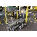 Lot of (2) Warehouse Ladders | Rig Fee: Hand Carry or Contact Rigger