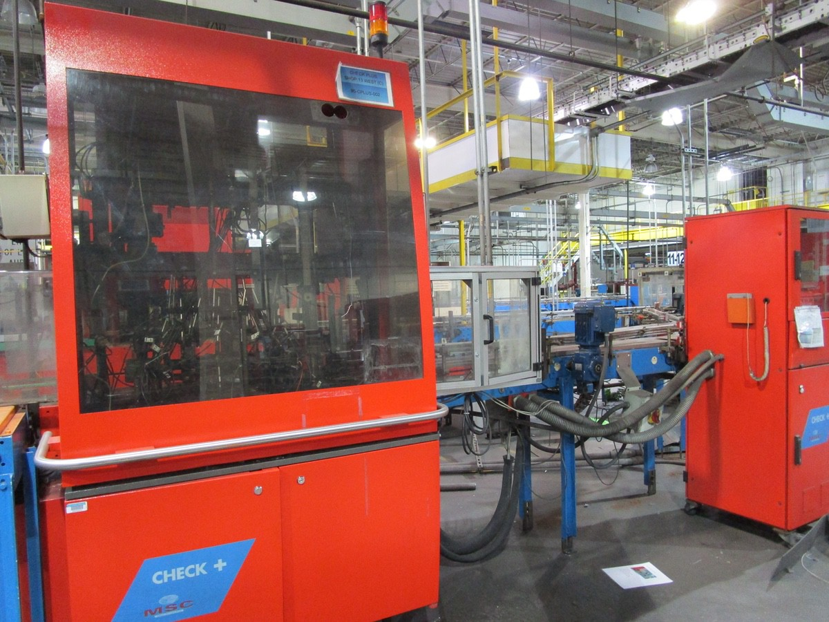 2005 Tiama MSC Check + Gauche Multi Inspection Machine s/n 169105 | Rig Fee: $1500 Skidded & Loaded