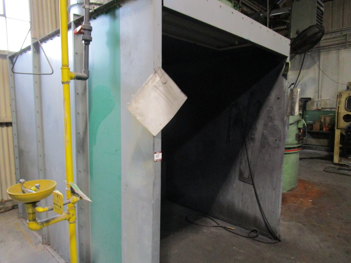 Global Finishing Approx. 6' x 6' x 6' Spray Booth | Rig Fee: Contact Rigger - Image 3 of 3