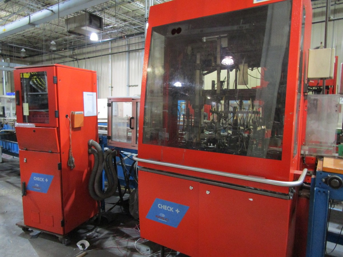 2005 Tiama MSC Check + Droite Multi Inspection Machine s/n 169104 | Rig Fee: $1500 Skidded & Loaded