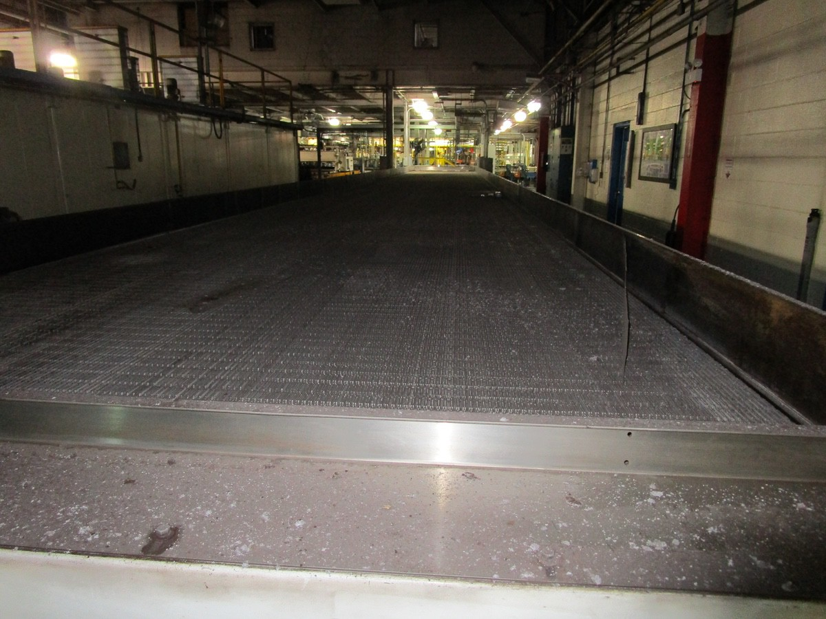 Alliance Industrial Approx. 6' x 70' Cooling Conveyor, PLC Control | Rig Fee: $7500 - Image 3 of 7