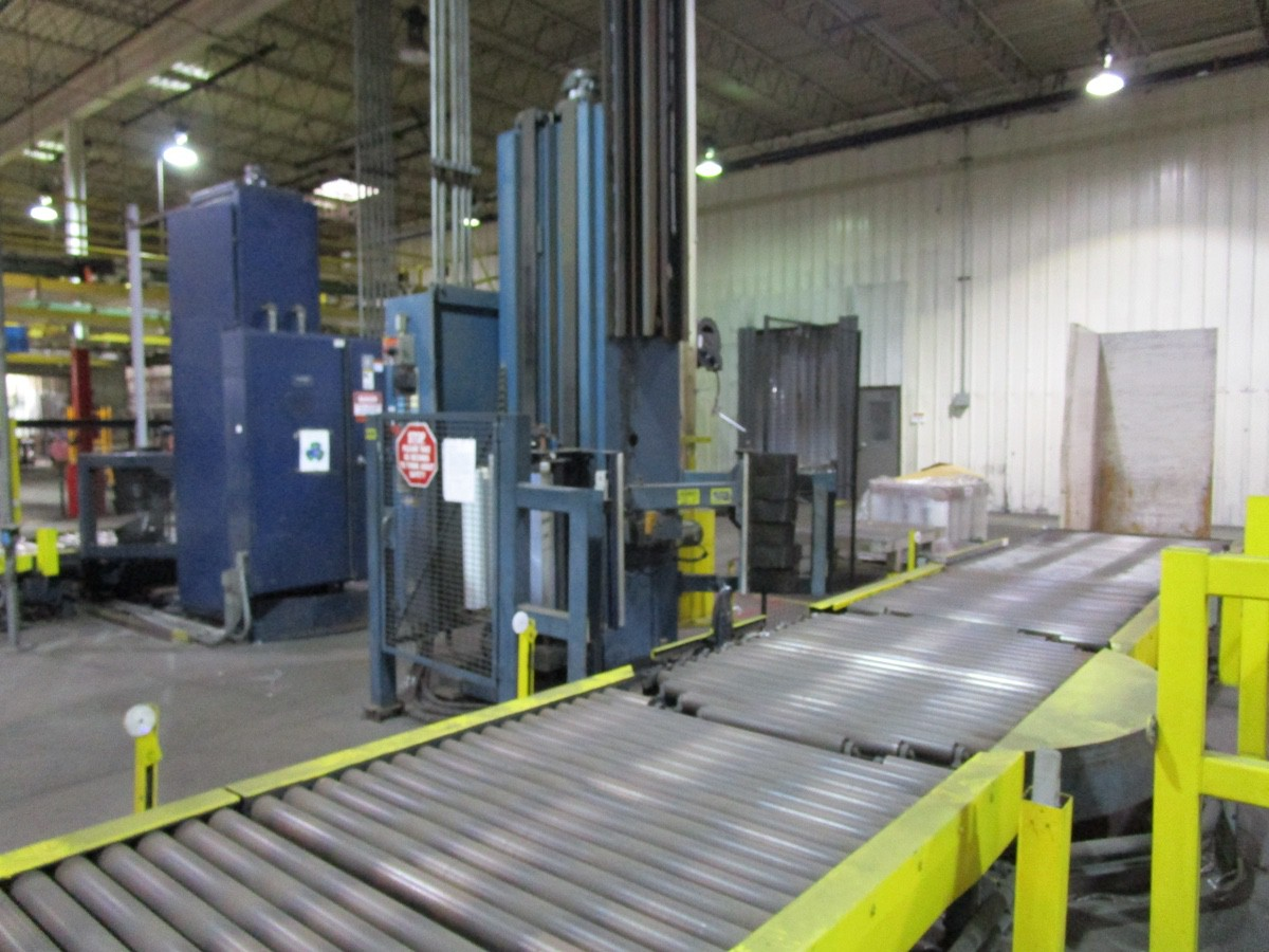 Lantech Automatic Pallet Stretch Wrapper s/n NA | Rig Fee: $2500 - Image 7 of 7