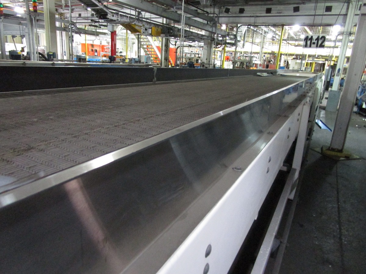 Alliance Industrial Approx. 6' x 70' Cooling Conveyor, PLC Control   Rig Fee: $7500 - Image 3 of 5