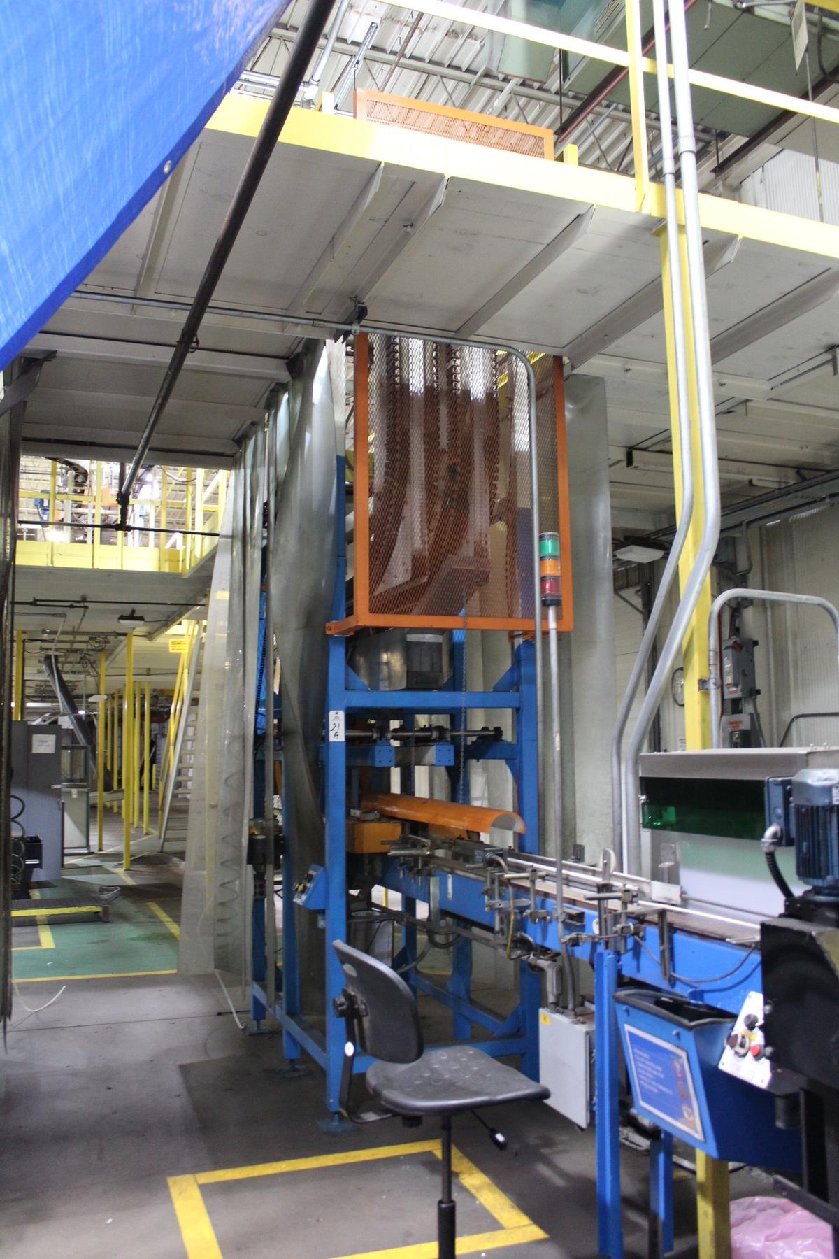 Alliance Industries Bottle Elevator Conveyor Section   Rig Fee: Contact Rigger