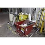 Wright Dump Hopper w/Poly Waste Cart | Rig Fee: $35