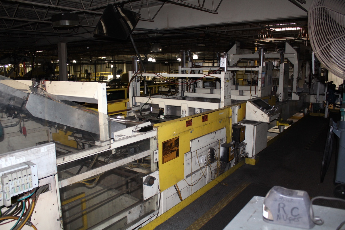 Busse Bros. Palletizer, M# SD20, S/N 1580997 | Rig Fee: Contact Rigger