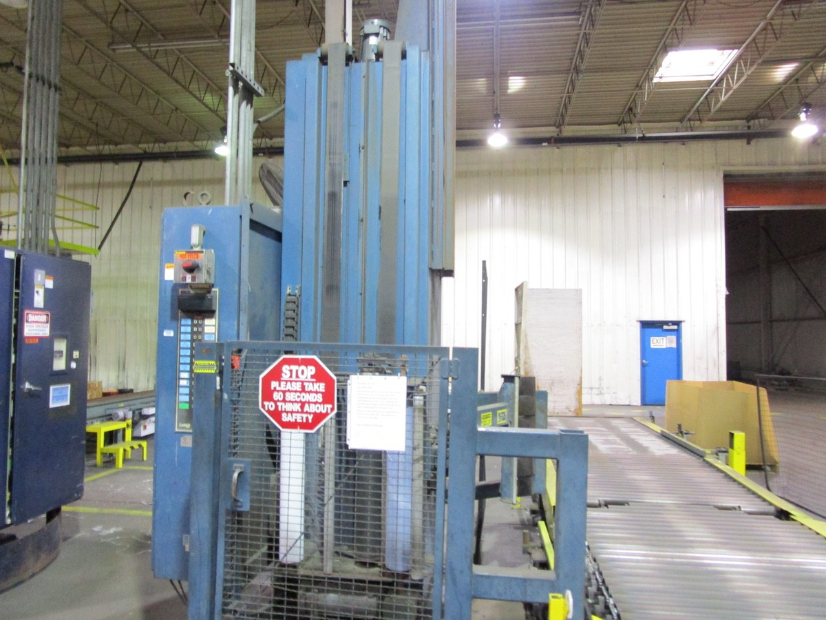 Lantech Automatic Pallet Stretch Wrapper s/n NA | Rig Fee: $2500