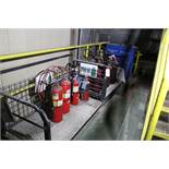 Lot of Fire Extinguishers w/Carts | Rig Fee: Hand Carry or Contact Rigger