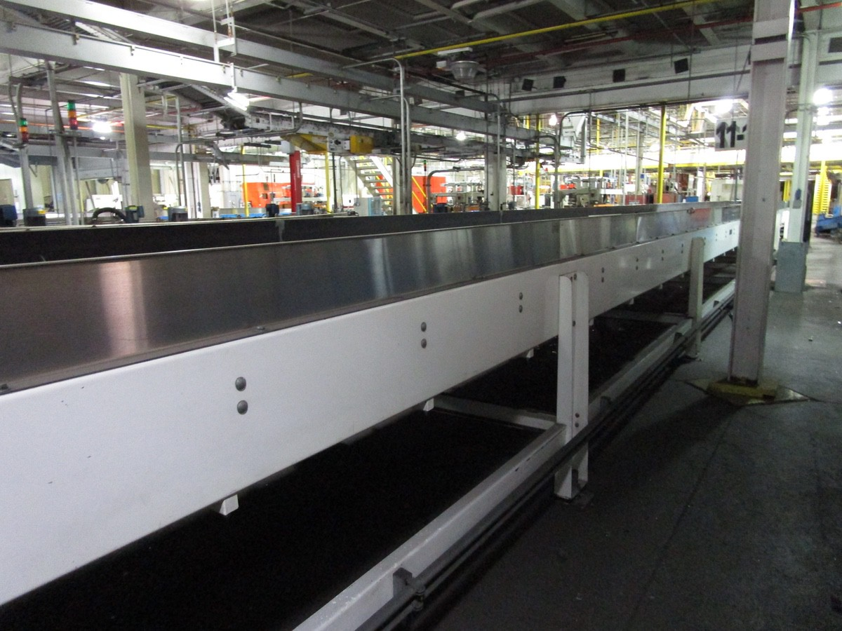 Alliance Industrial Approx. 6' x 70' Cooling Conveyor, PLC Control   Rig Fee: $7500 - Image 4 of 5