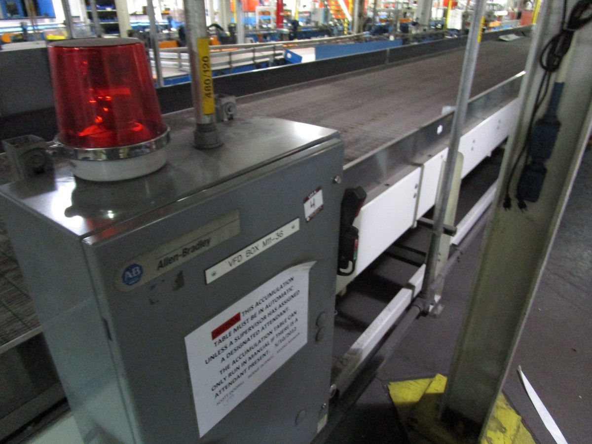 Alliance Industrial Approx. 6' x 70' Cooling Conveyor, PLC Control   Rig Fee: $7500 - Image 2 of 5
