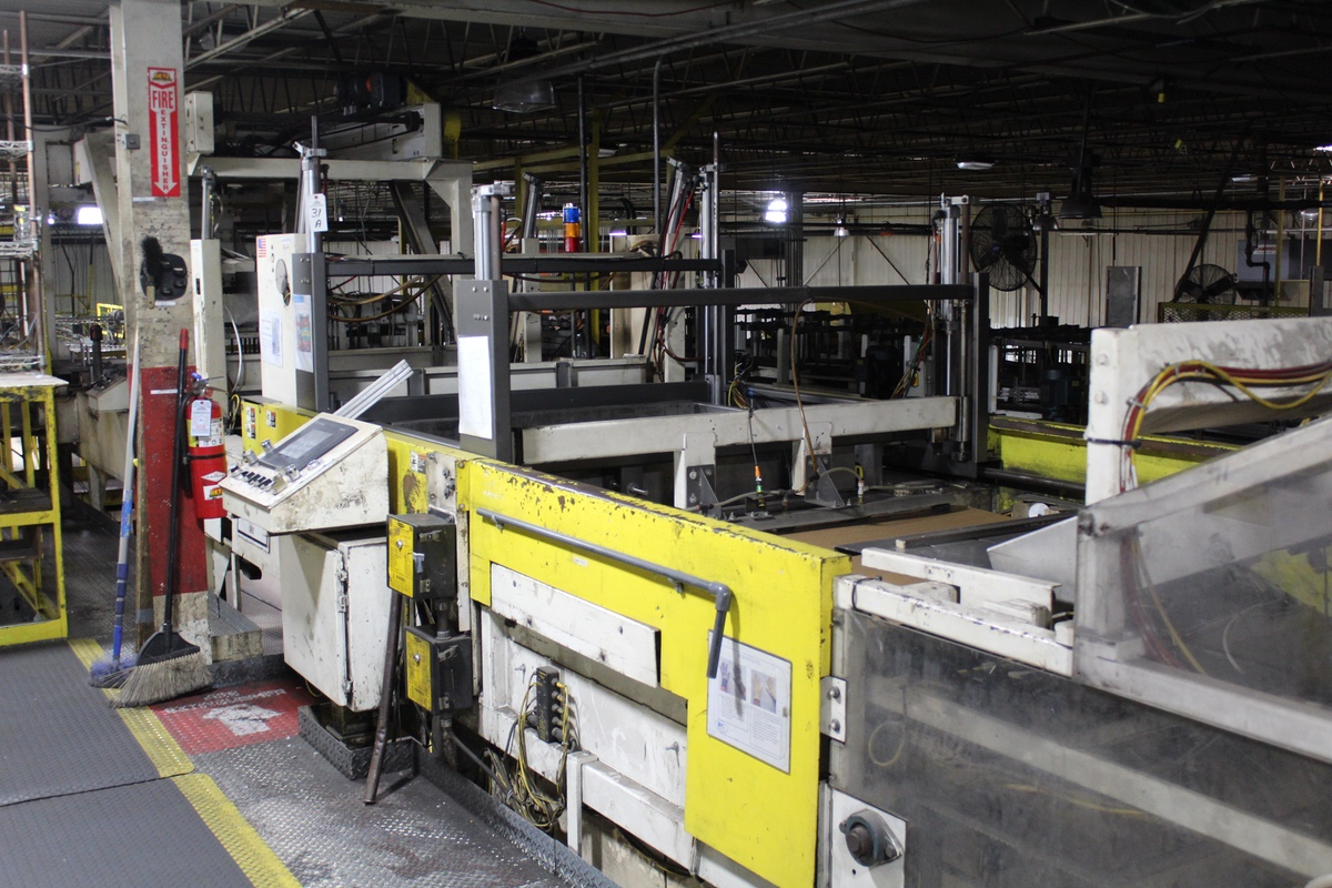 Busse Bros. Palletizer, M# SD20 | Rig Fee: Contact Rigger
