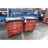 Lot of (2) Portable Tool Chests | Rig Fee: Hand Carry or Contact Rigger