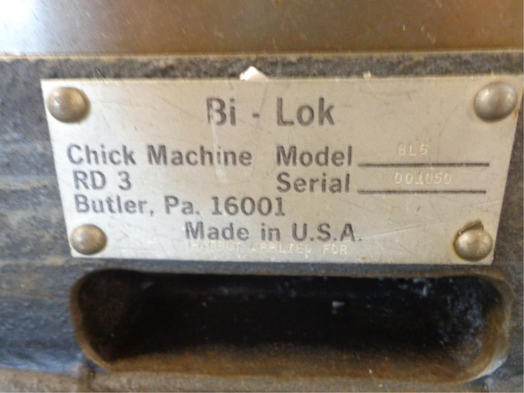 Chick Machine Vise Grip - Image 2 of 2