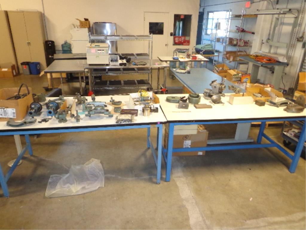 Assorted Machine Tooling Parts