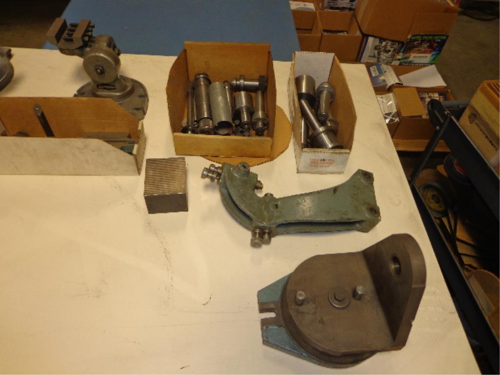Assorted Machine Tooling Parts - Image 2 of 8