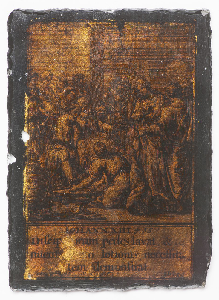 UNKNOWN GERMAN AUTHOR: THE WASHING OF THE FEET - CHRIST'S SERVICE OF RECONCILIATION Early 17th