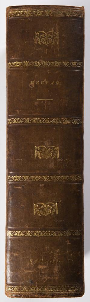 PIETRO ANDREA MATTIOLI (1501-1577): A HERBARIUM 37x26x10 cm The Czech edition with colored - Image 2 of 4