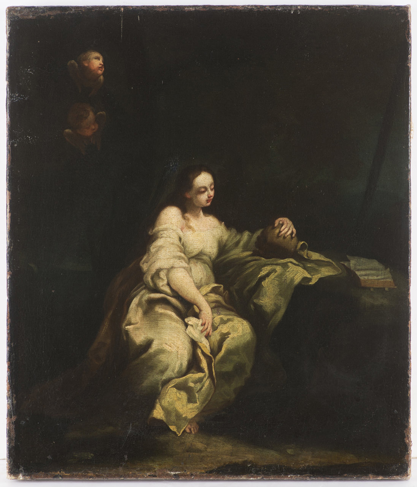 ATTRIBUTED TO GIUSEPPE MARIA CRESPI (1665-1747): REPENTANT MARY MAGDALENE Before the mid-18th