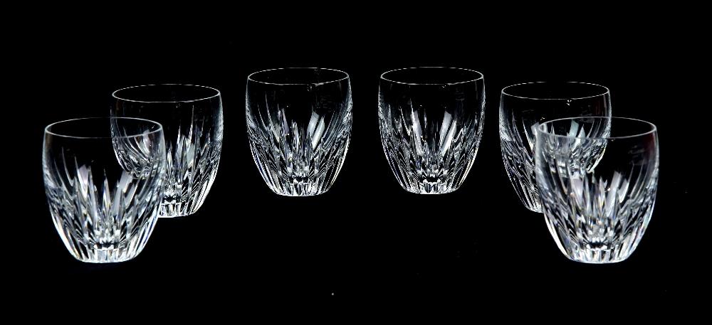 Set of six Baccarat Massena Crystal Goblets in original box 15.5cm, set of six wine glasses, 16cm - Image 3 of 3