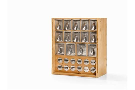 Spice Kitchen Frankfurt margarete schütte lithotzky attr kitchen cabinet 1930s wood