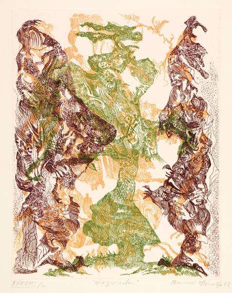 Lot 941 - Hommage à Gustav Stein. Sammler - Förderer - Freund. Mappe mit einem Doppelbogen Titelblatt und