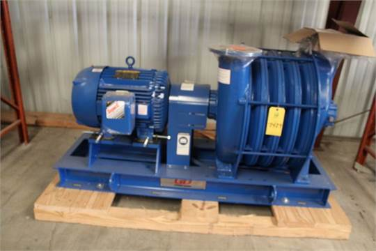 Gardner Denver Centrifugal Blower Hp 40 Rpm 3530 Frame