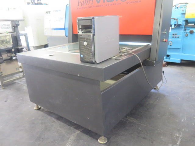 "Lot 42 - Fabrivision 48"" x 48"" Flat Part Measurement and Digitizing Scanner w/ Computer"