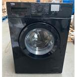 BEKO WTG820M1B WASHING MACHINE RRP £210 CONDITION REPORT: UNUSED. TRANSPORT DAMAGE. DENT IN THE