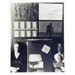 René Magritte. Fünf Fotografien. Silbergelatine. 1928–1947/1984. 40,5 : 30,5 cm. Die heilige