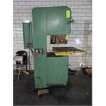"""DoAll Model 2012-1H 20"""" Vertical Band Saw"""