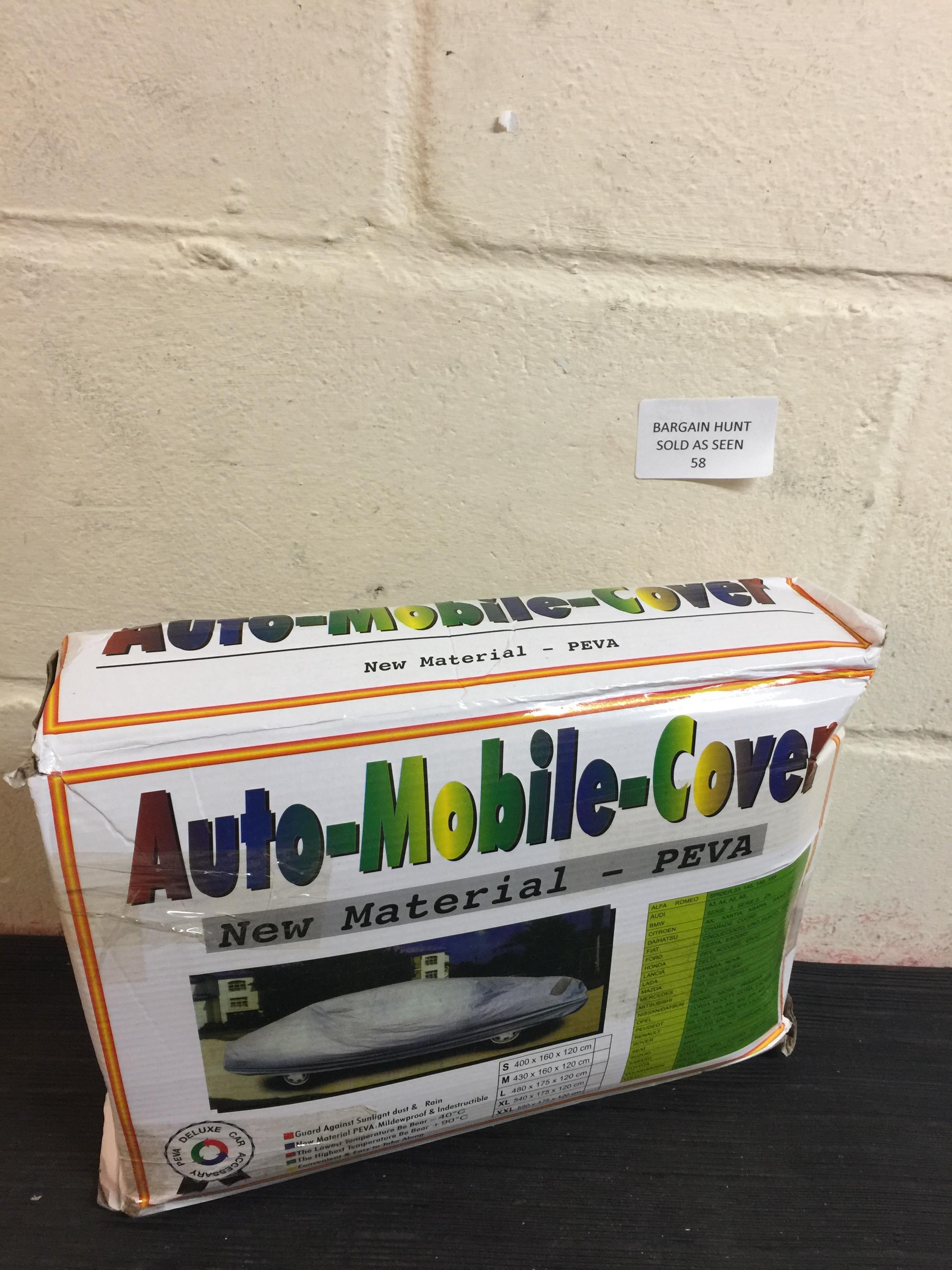 Lot 58 - Auto-Mobile Cover